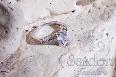 #Sanders Jewelers | #Gainesville, FL |  Ladies  14K #Valina Engagement ring with a #vintage feel.