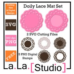 free SVG doily files
