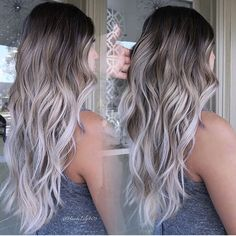 - All For Hair Color Balayage Cute Hair Colors, Gorgeous Hair Color, Hair Dye Colors, Ombre Hair Color, Hair Color Balayage, Hair Highlights, Color Highlights, Hair Colour, Belage Hair