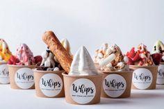 Cafe Menu, Cafe Food, Ice Cream Logo, Ice Cream Business, Yogurt, Ice Creamery, Ice Cream Illustration, Ice Cream Drinks, Ice Cream Packaging