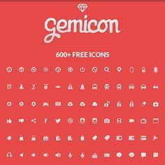Gemicon Icon Set (600 icons)