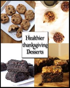 Eat Real Healthy Food | 5 Healthier Thanksgiving Desserts [All Vegan + Gluten Free] | All under 215 calories | http://eatrealhealthyfood.com