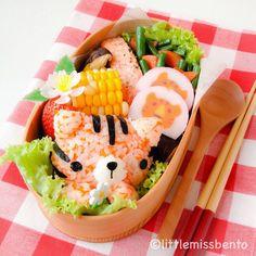 Tiger Bento トラさんのキャラ弁 - Little Miss Bento