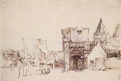 Portal de Rhenen. Desenho, 1640