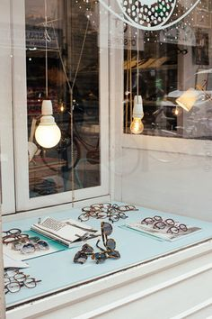 Fashion forward eyewear like no other in Florence Front Windows, Stationery Shop, Living In New York, Store Fronts, House Front, Interior Styling, Industrial Design, Florence, Facade
