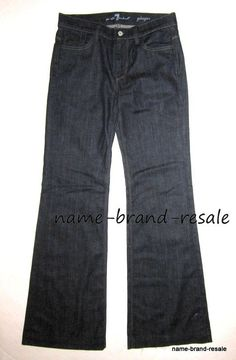 Details about 7 FOR ALL MANKIND Jeans DOJO Capri JEANS Womens 28 x ...
