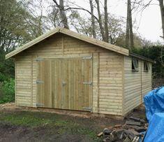 Wooden Garages UK, Timber Garages For Sale - Tunstall Garden Buildings Garage Door Design, Garage Doors, Outdoor Activity Centres, Outdoor Activities, Wooden Car, Wooden Garages, Car Shed, Timber Garage, Oak Framed Buildings