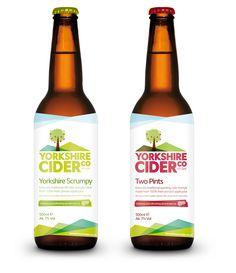 Cider Bottle Labelling - Stu Rollason-Taylor