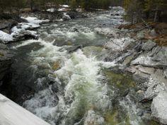 Riviertje in Noorwegen