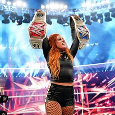 From the championship triumphs of Becky Lynch, Kofi Kingston and Seth Rollins to the final matches of both Kurt Angle and Batista, relive the agony and the ecstasy of WrestleMania 35 in these photos Seth Rollins, Kurt Angle, Wwe Pictures, Wwe Photos, Wrestling Divas, Women's Wrestling, Becky Lynch, Becky Wwe, Wrestlemania 35