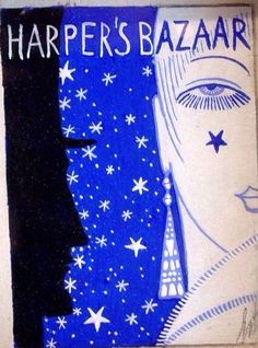 Harper's Bazaar cover by Erte