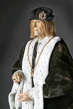 Henry VII.  After taking the throne, king Henry VII disarmed the nobility, a maneuver essential for consolidation and restoration of royal authority. The infamous Star Chamber was revived. He kept his promise to marry Elizabeth of York, thereby affirming his legitimacy. She bore him eight children, including the future King Henry VIII. An Historical Figure of England, Tudor Dynasty.