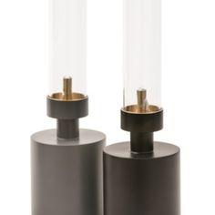 Klong Patina Mini Grey and Black oil lamps