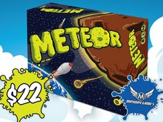 Meteor plays as a real-time card game. Each player has a hand of cards and a build area.  Players work together to SAVE THE EARTH!