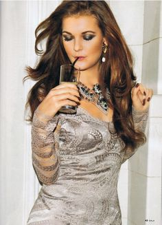 Aga Radwanska is featured in the latest Gala magazine in Poland. Shot before she dyed her hair blonde.