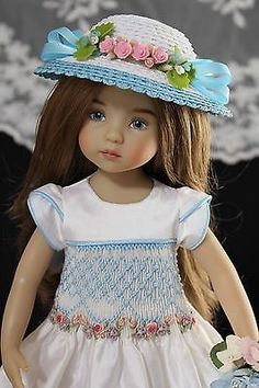 OOAK-Silk-Embroidered-Dress-Ensemble-13-Effner-Little-Darling-Doll
