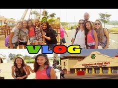Vlog: um dia no hopi hari com a escola(encontrei leitoras,e muita diver...