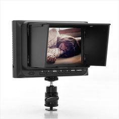 5 Inch On-Camera DSLR Monitor - HDMI Cable, Sun Blind