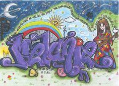 Melanie's graffiti