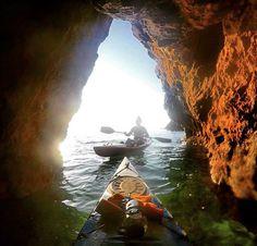 Kayaking. Best way to explore the Mornington Peninsula.  Victoria, Australia…
