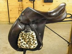 Stirrup socks - they're cute and protect you saddle and stirrups!