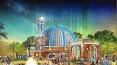 Planet Hollywood begins its Observatory Disney Springs Transformation. observatory-disney-springs