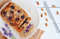 Healthy Baking: Blueberry, Coconut & Almond Loaf Recipe | Breakfast Criminals