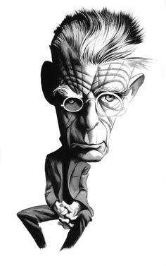 Irish Writers Happy #StPatricksDay #Samuel Beckett  #IrishWriters #FernandoVicente