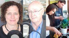 De l'action dans les écoles entrepreneuriales au N.-B. Radios, Canada, Over Ear Headphones, Headset, Action, Headphones, Ear Phones, Group Action, Helmet