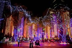 Christmas at the Ayala Triangle Gardens, Makati City, Philippines