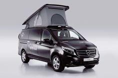 Wohnmobile sind groß, weiß und spießig? Bei Terracamper lässt sich etwas anderes erfahren. Dort gibt es mit dem Tecamp einen alltagstauglichen Offroad-Camper auf Basis des Mercedes Vito 4x4.