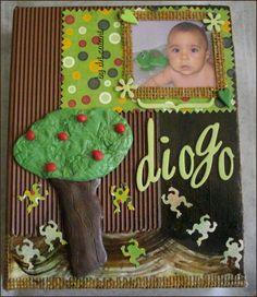 Álbum diogo by dri saiani © árvore em FIMO