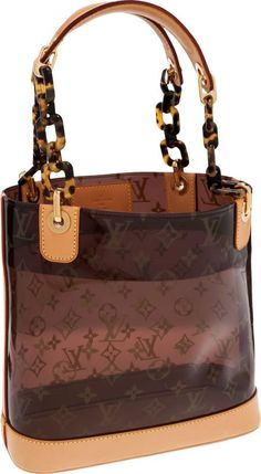Louis Vuitton Monogram Vinyl Ambre Cruise Cabas PM Bag