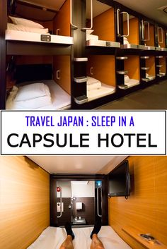 Your guide for staying in a capsule hotel in Japan. Find capsule hotels in Tokyo, Kyoto and Osaka with photos and reviews. A truly unique Japan experience. If you travel to Japan sleeping in a capsule hotel should be on your bucket list!