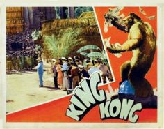 King Kong 1933 Lobby Card Style 2