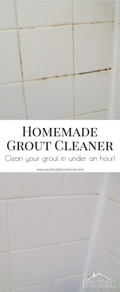 home made grout cleaner this is utterly amazing baking soda and rh pinterest com clean bathroom grout with bleach can you clean bathroom tiles with bleach