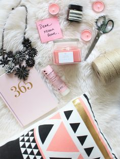 Mother's day flatlay
