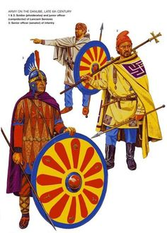 Army on the Danube, late 6th Century