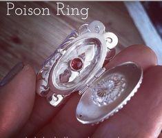 POISON RING ONLINE CLASS Poison Ring, Rings Online, Gemstone Rings, Rings For Men, Gemstones, Men Rings, Gems, Gem