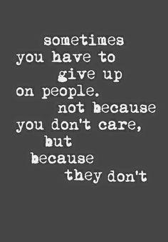 100% truth! Sad individuals