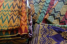 Handwoven Malong from Maguindanao