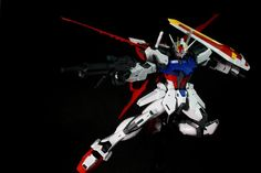 Daniel (Indonesia) here's my MG Aile Strike with the box art's pose just playing with the angle and turn the shield in oposite way