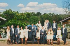 Bridal Party Posing » Jessie Holloway Photography