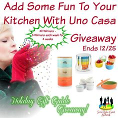 #Holiday #Giveaway ~ @UnoCasaProducts #Kitchen (Ends 12/25) – Ms. Cat's Honest World