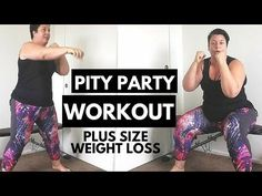 PITY PARTY - Plus Size Workout frustration - weight loss - YouTube