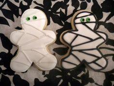 Halloween Mummy Cookies - 1 Dozen