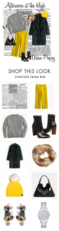 """Urban Preppy"" by michelle-jones-i on Polyvore featuring J.Crew, Ivanka Trump, MICHAEL Michael Kors, Coach, Merona and modern"