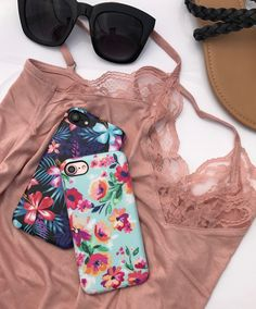 Digging up our summer outfits ☀️ Mint Paradiso & Lilac Kiss for Summer 2017 from Elemental Cases for iPhone 7 & iPhone 7 Plus