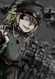 All Anime, Anime Manga, Anime Art, Guerra Anime, Tanya Degurechaff, Tanya The Evil, Anime Japan, Angel Of Death, Manga Games