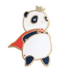 hero panda pin
